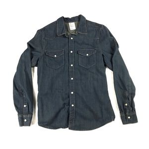 H&M Denim Button Up Shirt
